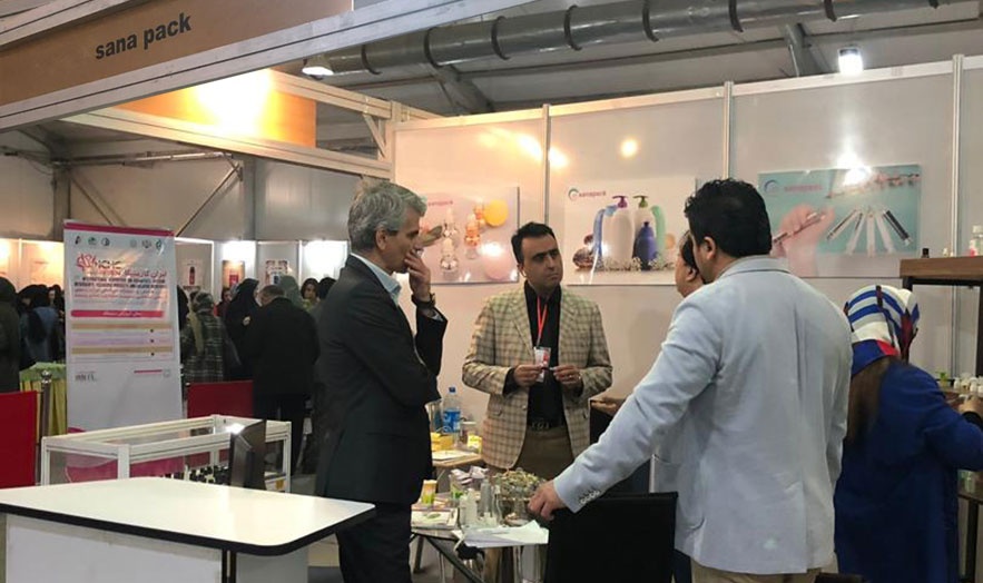 January 2020 Tehran International Exhibition, sanapack Booth